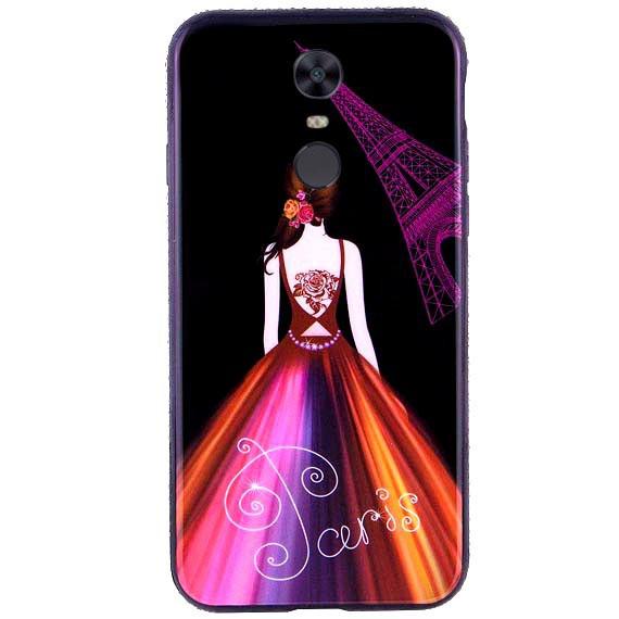 TPU чехол Magic Girl Matte со стразами для Xiaomi Mi 6X / Mi A2