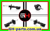 Передній газ-масл амортизатор на FIAT PUNTO III (199) (07.2008-)