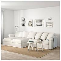 ✅ IKEA GRONLID (992.548.04) 4-местный диван, с шезлонгом, Ljungen светло-зеленый