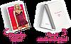 Комплект эротического белья сорочка и трусики Obsessive 845-CHE-5 CHEMISE Бордовый, фото 4