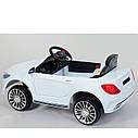 Электромобиль T-7629 WHITE для деток 3-8 лет с пультом мотор 2*20W с MP3, фото 2