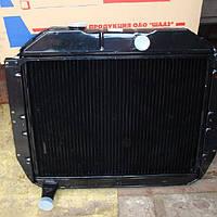 Радиатор водяной (ЗИЛ 130,131) Медный (3-х рядный) Россия