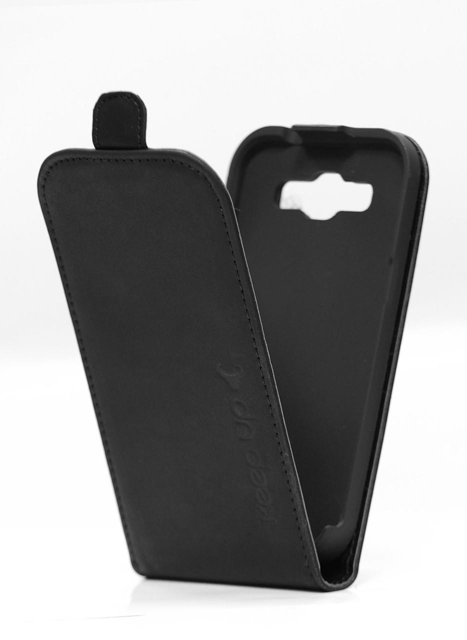 Чехол-флип для Samsung i8262 Galaxy Core чёрный