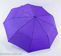 """Однотонный женский зонтик с тисненным узором от фирмы """"Max komfort"""""""