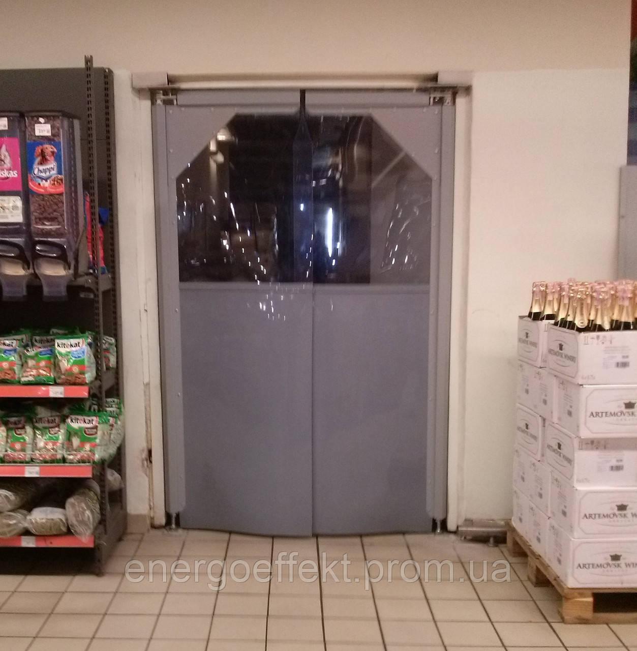 Маятниковые двери – особенности и область применения