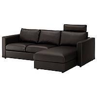 ✅ IKEA VIMLE (592.566.83) 3-местный диван, с шезлонгом