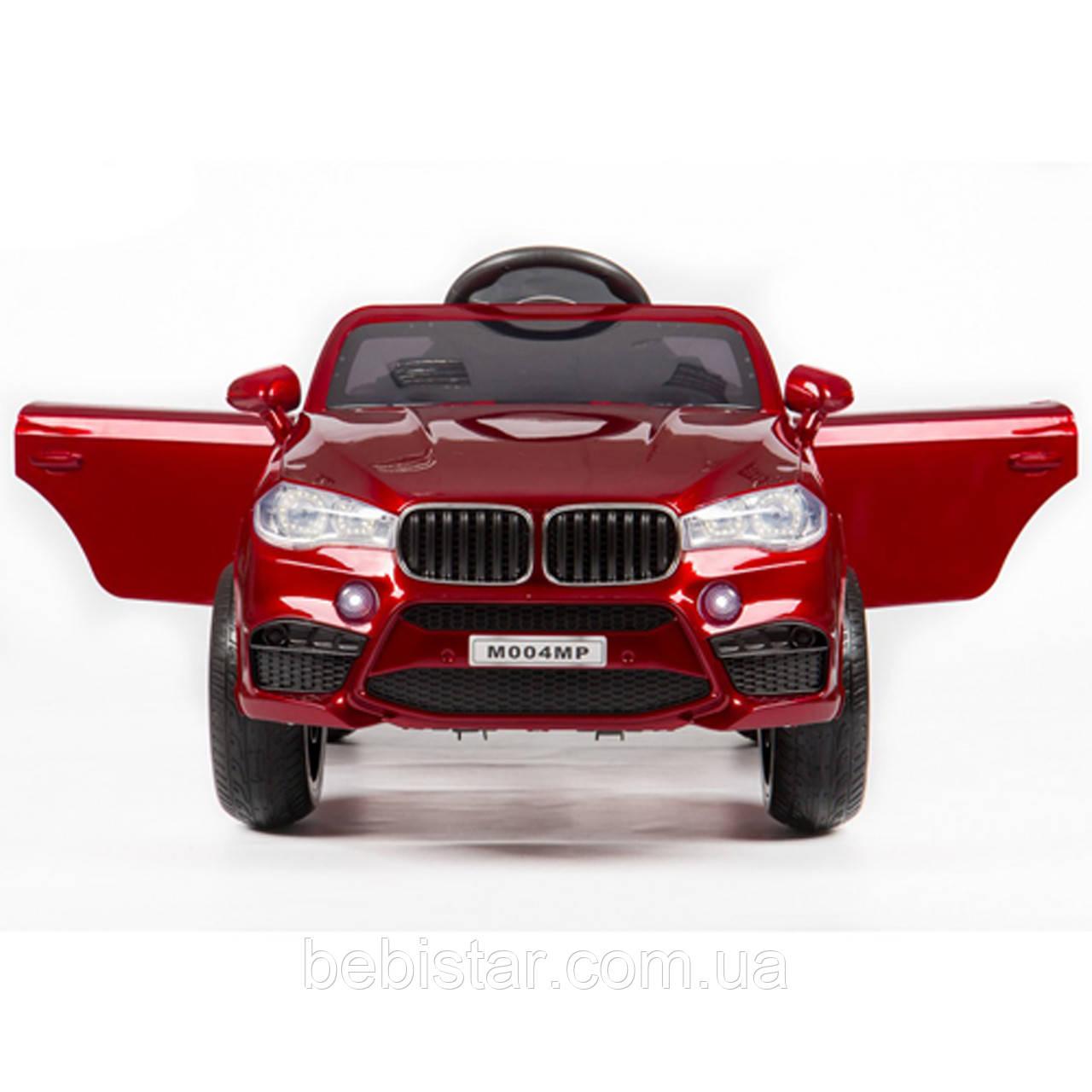 Детский электромобиль Джип красный T-7830 RED деткам 3-8 лет с пультом мотор 2*25W аккумулятор 2*6V4,5AH