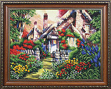 Набор для вышивки бисером Сказочный пейзаж 4 МК Б-146