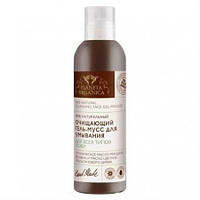 """Очищающий гель-мусс для умывания """"Planeta Organica"""" для всех типов кожи"""