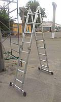 Аренда алюминиевых лестниц-стремянок, фото 8