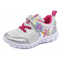 Кросівки для дівчинки Agatha Ruiz de la Prada 182995 сріблясті 29-33
