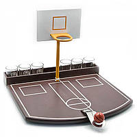 Баскетбол с рюмками (35х30х24 см)