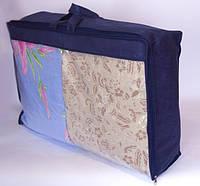Сумка для хранения вещей\сумка для одеяла S (синий)