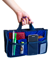 Органайзер для сумки  ORGANIZE украинский аналог Bag in Bag (синий), фото 1