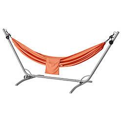 ✅ IKEA GARO / RISO (792.493.90) Гамак с подставкой, серый, бледно-оранжевый