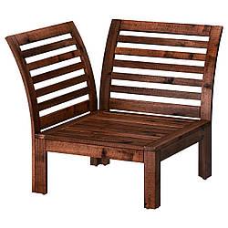 ✅ IKEA APPLARO (502.051.79) Угловая секция, сад, коричневое пятно коричневое
