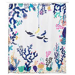 ✅ IKEA LASJON (203.774.45) Душевая завеса, разноцветная