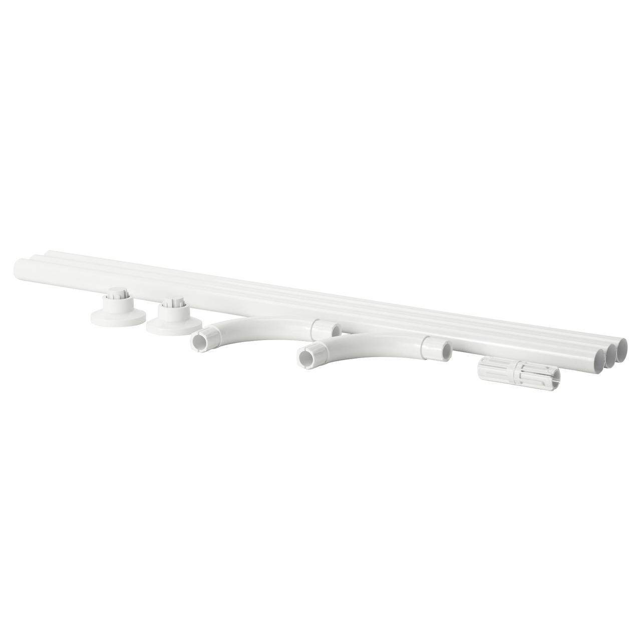 ✅ IKEA VIKARN (503.060.17) Штанга для шторы в ванную белый