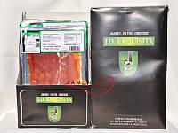 Хамон серрано нарезаный слайсами 80 грамм, Испания (хамон нарезка, хамон в упаковке)