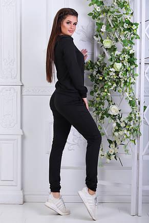 Спортивный костюм чёрный от производителя, фото 2