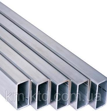 Труба алюминиевая прямоугольная