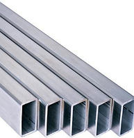 Труба алюминиевая прямоугольная, фото 1