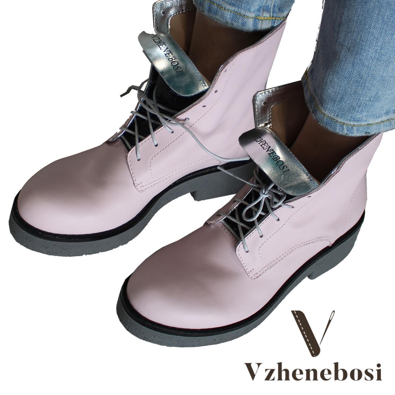 Женские ботинки весна-осень ручной работы