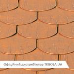 Медная битумная черепица TEGOLA Prestige Традишнл