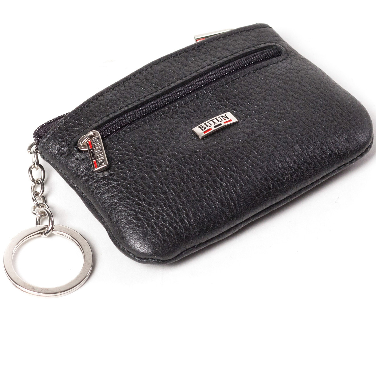 Ключница кожаная черная Butun 761-004-001