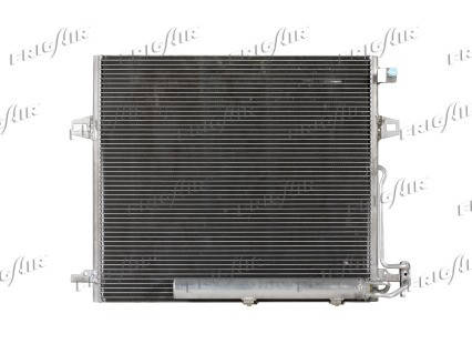 Радиатор кондиционера Mercedes ML-Class W164 2005-2011 (AVA) , фото 2