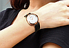 Женские часы Sanda P196 Black/White, фото 2