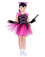 Кошечка розовая карнавальный костюм для девочки \ Pur - 84103