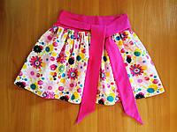 Спідничка для дівчаток кольорові квіточки