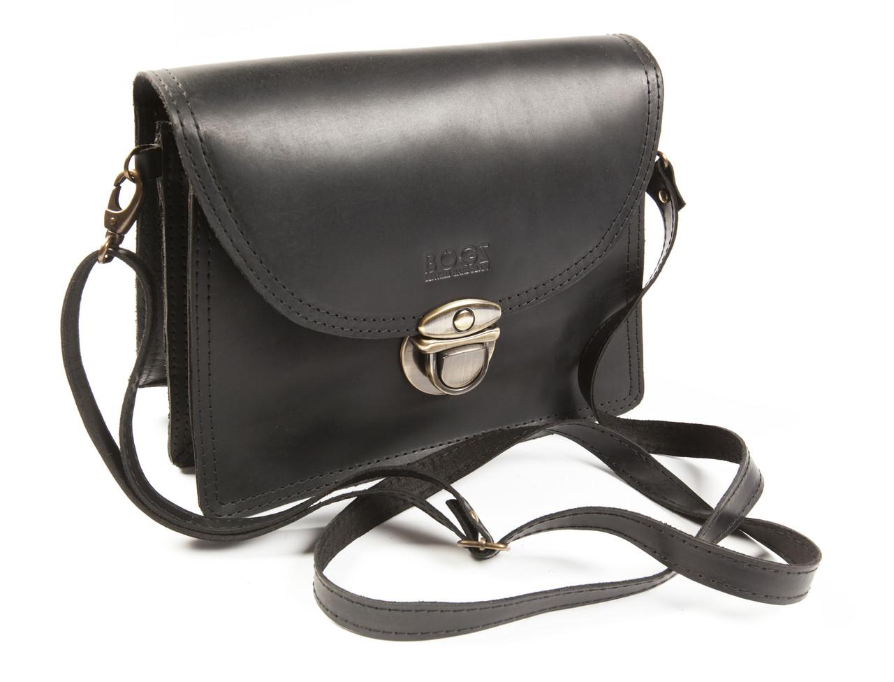 c9ace5b7c Женская кожаная сумка «Ирен» - Интернет-магазин кожаных аксессуаров ручной  работы BOGZ в