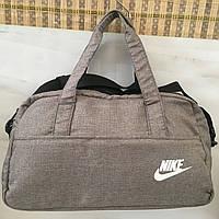 Сумка спортивная Nike Текстиль Высококлассные Спортивная- дорожная сумка с  нашивкой (Nike) оптом 20216c0c7e0
