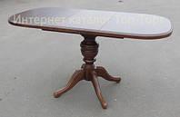 Стол раскладной Триумф 105(+40)х75см орех, венге, натуральный, рустикаль
