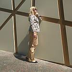 Жакет из легкого джинса , рукав 3/4 на кнопках, фото 5