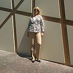 Жакет из легкого джинса , рукав 3/4 на кнопках, фото 4