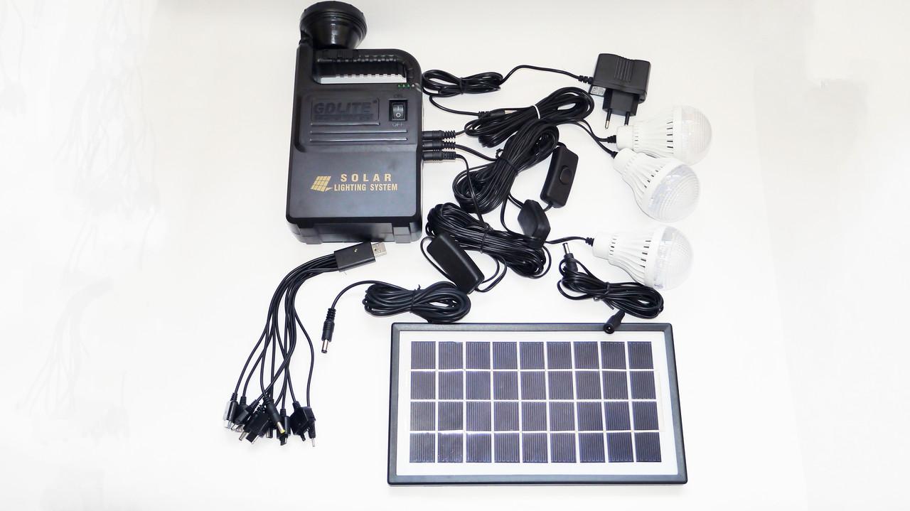 Система автономного освещения GDLite 8033 Solar Board
