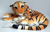 Тигрица с тигренком! Удивительный подарок,50см.+хвостик 31 см :), фото 1