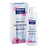 Восстанавливающий шампунь против выпадения волос Yoghurt of Bulgaria от BioFresh 230 мл