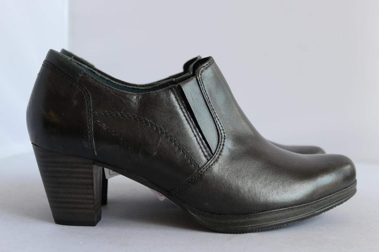Женские кожаные туфли Tamaris