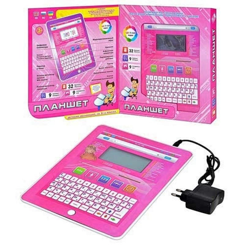Детский обучающий планшет , компьютер  (русский и английский языки).