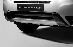 Защитная накладка переднего бампера аксессуар Subaru For 13 MY 09-12 Оригинал (E555ESG000)