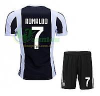 Футбольная форма Ювентус Роналду Ronaldo, домашная сезон 2017/2018