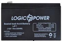 Аккумуляторная батарея LogicPower 12V 7AH AGM