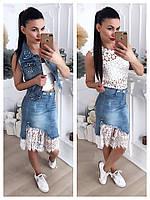 6071a98e7ad Женская модная джинсовая юбка в категории юбки женские в Украине ...