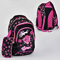 Рюкзак школьный 7 карманов