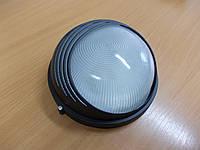 Светильник НПП1107 черный/круг ресница 100Вт, фото 1