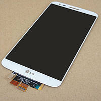 Дисплей + Тачскрін LG G2 D802 Чорний Білий